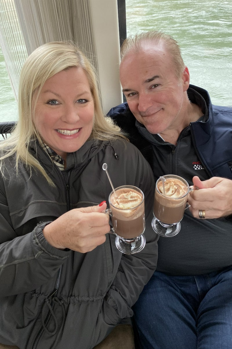 Hot Chocolate on a Viking River Cruise