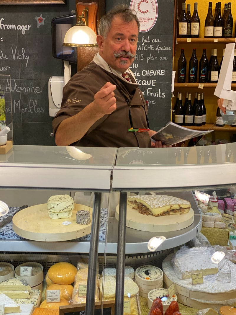Cheese shop in Strasbourg, France