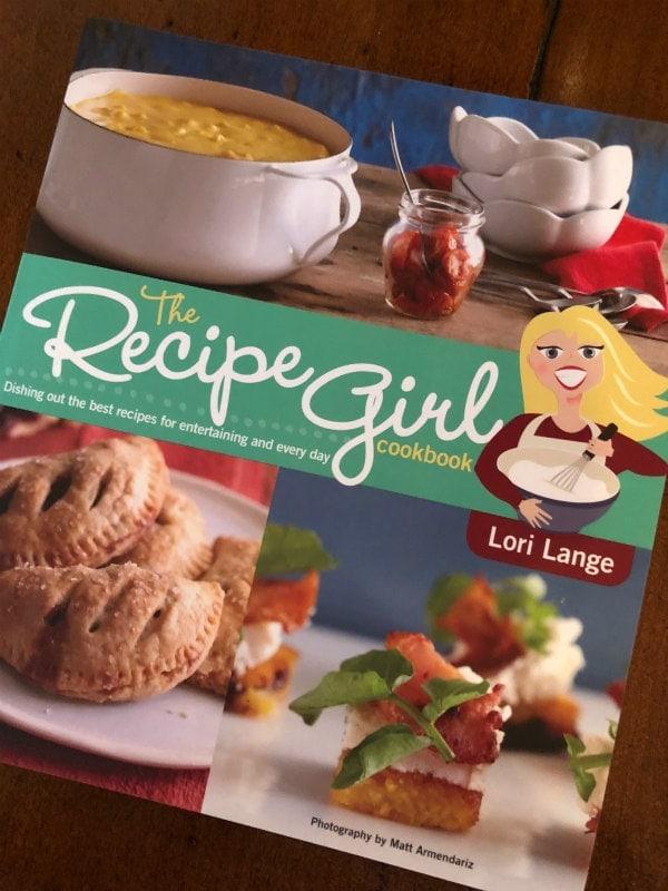 the recipe girl cookbook cover