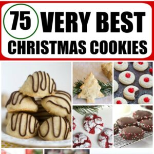 75 very best christmas cookies collage image