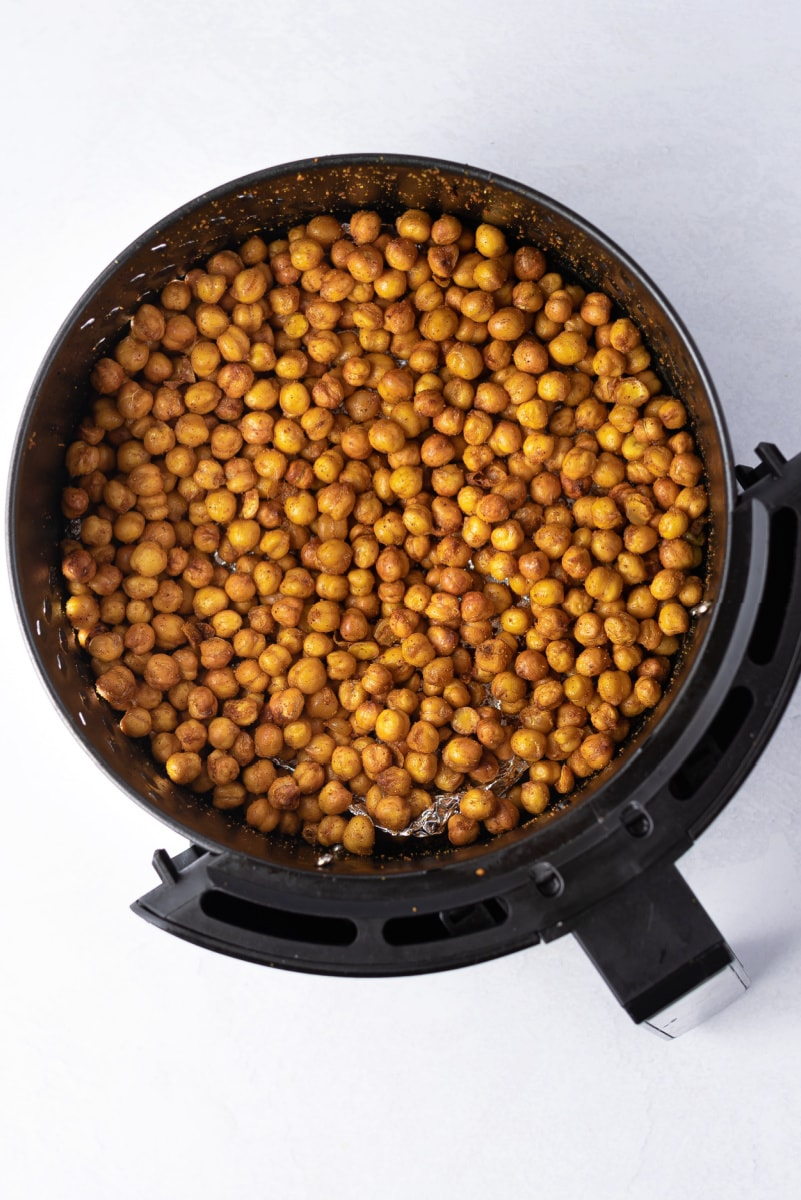 chickpeas cooked in the air fryer