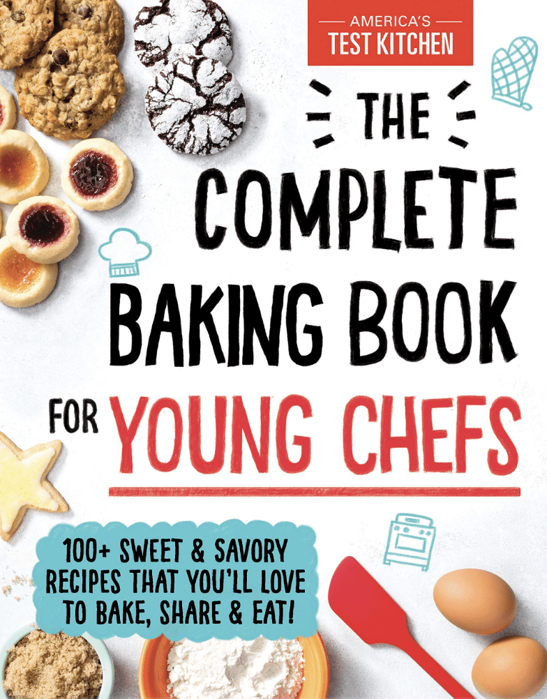 The Complete Baking Book for Young Chefs cookbook cover