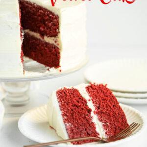 red velvet cake pinterest pin