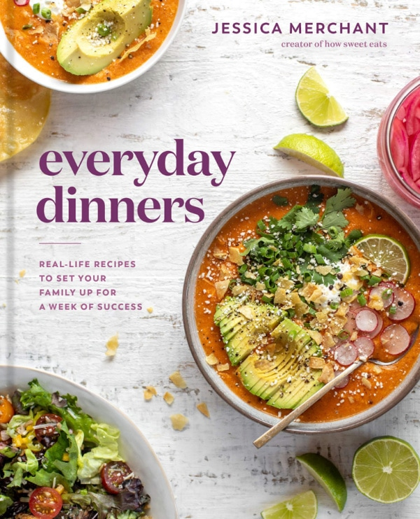 everyday dinners cookbook cover