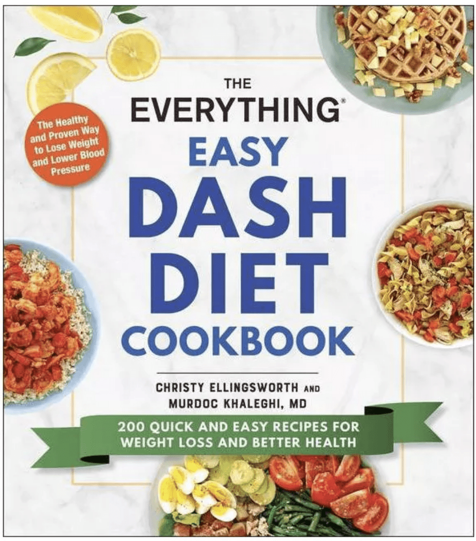 Cover of the everything easy dash diet cookbook